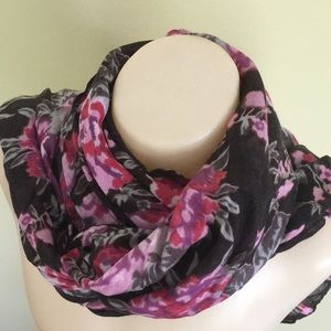 BELLISSIMA ACCESSORIES Long Floral Fashion Scarf
